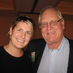 Daughter and father team, Kasey and Dick Kruse of Kruse Carpet Recycling