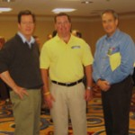 David Bowen (left), Shaw Regiel & Randy Wolf