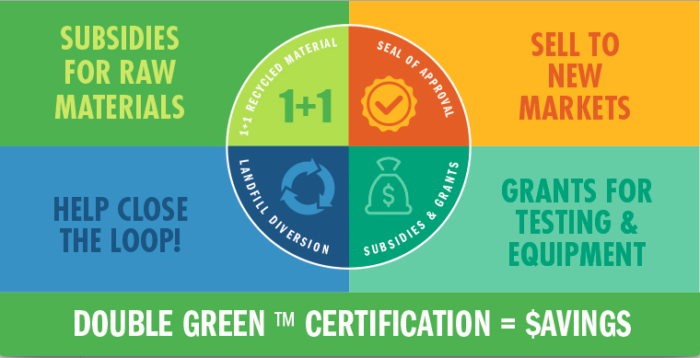 double green infographic