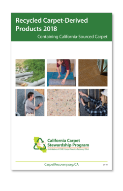 carpet derived product catalog