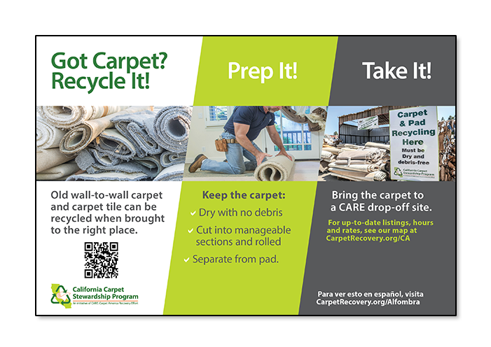 got carpet? recycle it!